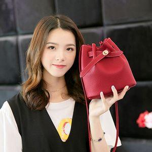 borsa delle donne sacchetto dell'unità di elaborazione della benna solido casuale borsa da signora coreana epoca sublimazione spazi sublimazione spazi vuoti con coulisse