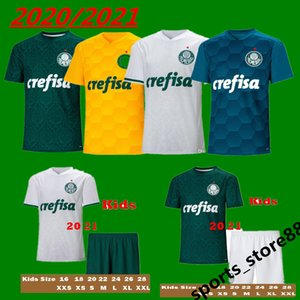 20 21 Palmeiras soccer jersey Adult kids kit DUDU FELIPE MELO football shirts L.ADRIANO WILLIAN traning uniform camisa Palmeiras shirt S-XXL