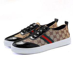 Scarpe casual italiane, scarpe basse in tela di alta qualità scarpe casual da uomo, scarpe da skateboard in pelle ultrafine