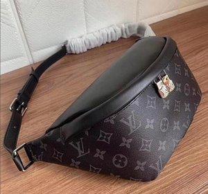 Genuine Leather famoso marchio spalla DISCOVER Marsupio Croce Body Bag monogrram tela Mezzo Borse Croce pacchetto di Fanny Bum Vita Borse borsa