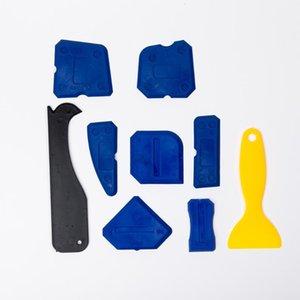 Ferramenta 9pcs Set Household Glue Remover raspador Canto Caulk Ângulo DIY Selante Pá Seamless Juntas Handheld
