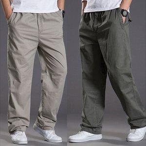 2020 Spring Summer Casual Pants Men Cotton Pants Men's Fashion Trousers Super Large Size Xl-6xl