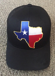 Bundesstaat Texas-Flaggen-Hut Baseballmütze SnapBack Trucker Mesh Cap