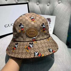 Nouveau haute qualité chapeau de pêcheur chapeau de seau de luxe de la mode chapeau de soleil Voyage classique pour les hommes et les femmes