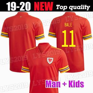 Nuevas Gales del fútbol Jersey 2020 20 21 BALE ALLEN equipo local James Wilson Ben Davies Camisetas ROJO maillot camisetas de camisetas de fútbol