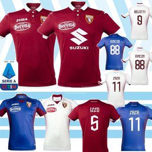 19 20 Torino FC maglia da calcio Turin BELOTTI IZZO FALQUE NKOULOU 2019 2020 Soccer Jerseys home Maillot de football Kit shirt Thailand