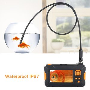 Industrial Endoscope1080P HD 4.3 inch LCD شاشة 2600mah Battery Professional Borescope Camera IP67 Watervance Inspection Snake Tube