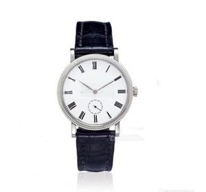Top vender relógios inoxidável Man Feminino relógio de couro alça de mão relógio mecânico relógio de pulso 0033