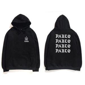 Hip Hop Hoodies Men I Feel Like Pablo West Streetwear Hoodie Sweatshirts Letter Print Hoodie Hoodie Club 3OHD0X4D