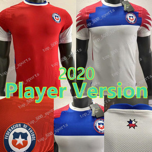 2020 Player version Chile home Soccer Jersey 20 21 Alexis Vidal Away Soccer Shirt #7 ALEXIS #8 VIDAL #10 VALDIVIA 17 MEDEL Football