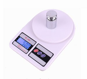 2019 New Design SF400 LED Pocket Digital Scales Food Scales Balance Weight LCD Electronic Cooking Measure Tools Christmas Gifts No battery