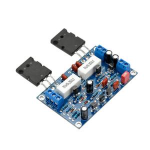 Tablero del amplificador de 100W AIYIMA 2SC5200 + 2SA1943 Amplificador de sonido HIFI Junta Mono Canal Dual Power DC35V de bricolaje para el teatro casero