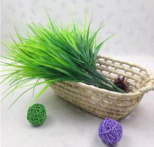 1 Parte Green Grass Artificial plantas de plástico Flores Household casamento Primavera-Verão Sala Home Decor P20