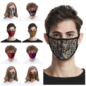 new Adult and child Leopard Print Mask Breathable Anti Dust mask Face mask Reusable men and women Designer masks 25style T2I51145