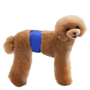 Dog Physiological Pants Diaper Sanitary Washable Female Dog Shorts Panties Menstruation Underwear Briefs Jumpsuit Cotton Diaper
