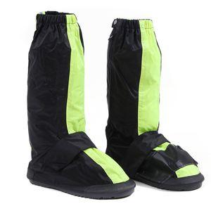 Kullanımlık Su Geçirmez ayakkabı kapak motosiklet bisiklet yağmur botları motosiklet sürme ayakkabı reflektörler ile kaymaz kapakları
