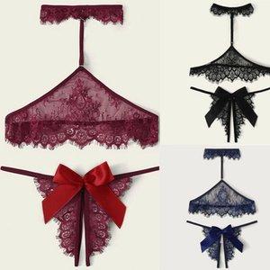 Женщины Charm Lady Сексуальное белье кружевном платье стринг Пеньюары Пижамы Нижнее белье