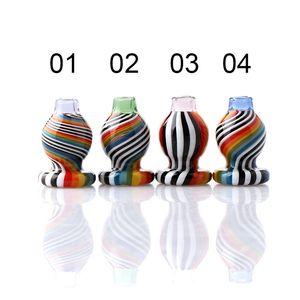 оптовый США Пик цвета Carb Cap 19mmOD Для Пика Вставки Пьянящего Стеклянные пузыря Крышки для кварца Banger Пик Dab Rigs