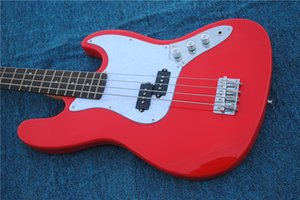 New style,high quality electric bass guitar.handmade 4 stings red color bass guitarra.rosewood fingerboard.real photos