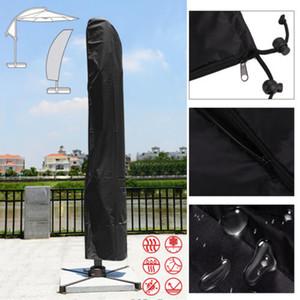 La cobertura del dosel Patio mercado al aire libre paraguas de protección bolsa encaja 205 265 285cm para meting cliente differnt