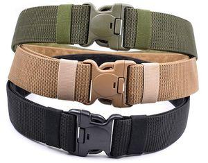 2019 Tactical Belt Nylon Exército Belt Trainin Outdoor Men Alta Qualidade cintura Strap Multifuncional