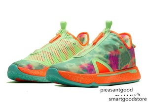 Women Gatorade PG 4 ASW kids for sale With Box new Paul George 4 Boys men Basketball Shoe Store free shipping US4-US12