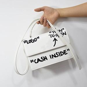 borsa a tracolla della borsa delle donne borsa nei pressi della famosa con la lettera di graffiti borsa crossbody