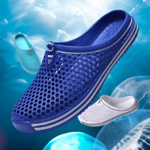 Summer Slippers Cutout Clogs Shoes Fashion Men and Women Garden Non-slip Beach Sandals