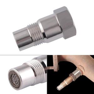 Ossigeno auto O2 Sensor Adapter CEL Fix controllo motore di luce Eliminator M18 * 1.5 Extender Fitting Adapter Eliminator prova tubo