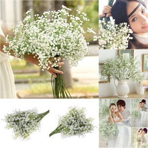 1pc de Gypsophila bébé Breath artificielle Faux Silk Flower Home Décor de mariage