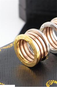BVR8 fahion grand homme de la marque BVL et femme anneau usine de gros en forme de printemps décoratif bijoux vente chaude peut sculpter logo plaqué or 18 carats