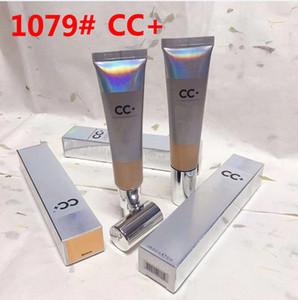 CC + lumière moyenne BB CC + Crèmes Crèmes 1079 # UVA UVB Argent 50+ Base de maquillage Cover Extreme Revêtement Fond de teint liquide Primer DHL Livraison gratuite