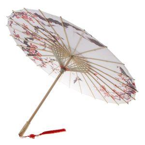 Estilo chino Art Oil Papel Paraguas Decoración de techo Classic Dance Paraguas
