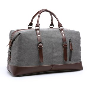 Luggage Handbags Vintage Big Travel High Canvas For Bag Tote Weekender Quality Duffle Men's Men Ogwkn Cdagn