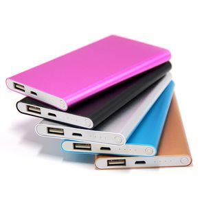4000 mAh Power Bank portátil fino bateria externa de carregamento de carga com cabo USB para iPhone Samsung S10 Nota 10 11 Pro Max