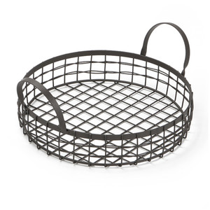 JEYL Durable Multifunctional Bread Basket Kitchen Fruits Storage Draining Basket With Handle