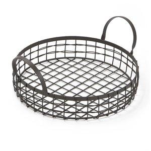 Panier de pain multifonctionnel durable de JEYL panier de drainage de stockage de fruits de cuisine avec la poignée