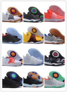 Mens Kyrie IV low cut scarpe da pallacanestro Irving 4 Mens Designer Sneaker da uomo Calzature sportive da basket 14 designer di colore