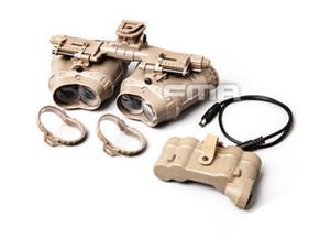 telescopio tattico modello di visione notturna occhiali casco accessori attrezzature GPNVG18 modelle versione CS gioco di guerra in nylon per casco nessuna funzione