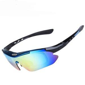 Windproof UV400 Goggles Polarized Men Tactical Glasses Climbing Hiking Riding Fishing Eyewear Sunglasses Eye Protective 5 Lens