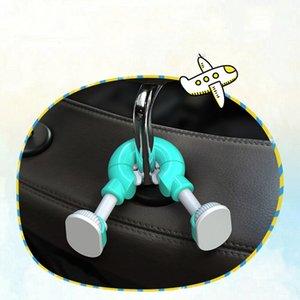 Universal Car Headrest Hook Hanger Bolsa Organizador Gancho Asiento Reposacabezas Soporte para bolsa Bolso Bolso Grocery Cloth