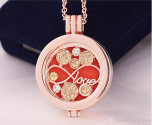 Essential Oil Diffuser Alloy Necklace, Female Crystal Love Aromatherapy Sweater Chain