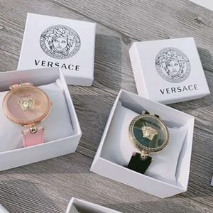 Montre 2020 de Moda de Nova Dial relógio das mulheres da menina Relógios Vestido Sports Moda Aço relógio de quartzo Womens Lady Feminino Relógio Ladies Com Box