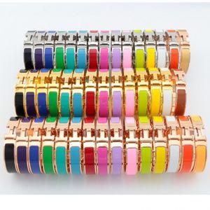 Marque New Top Qualité Designer H Lettre 18K or plaqué Bracelet 316L bracelet en acier inoxydable bracelet pour femmes cadeau En Gros Prix