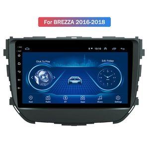 Car Multimedia Player 9-Zoll-Android 10 Auto GPS-Radio für Suzuki BREZZA 2016-2018