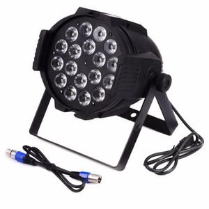 La luz LED Par 18X15W RGBWA 5in1 Led Par Can 64 para DJ Party