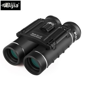 BIJIA 30X40 High times folded hunting compact binoculars telescope with Bak4 All-optical FMC Green film for hunting tourism