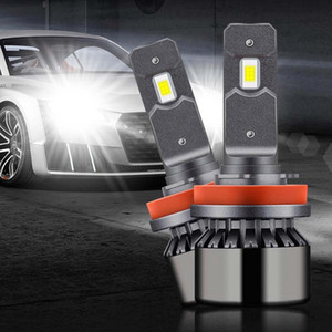 h7 car led headlight bulbs h4 9003 h1 h3 h8 h11 9005 hb3 9006 hb4 9012 led headlight 12000LM 65w 6000k car headlamp 12-24v light