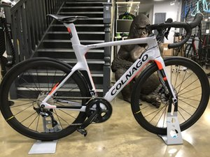 2019 colnago Komple bisiklet Bisiklet ile Ultegra R8010 Groupset tekerlek seti mat Satış 50mm karbon Yol için