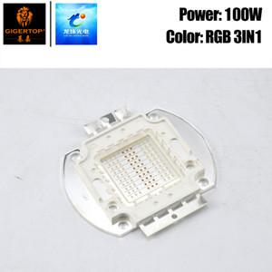 Freeshipping 100W RGB 3IN1 couleur COB Led Lampe 30-34V Projecteur Projecteur lampe Led haute puissance COB Chip Pour Par Lumière de scène